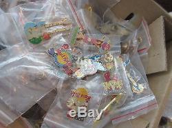 100 Various Japan Hard Rock Cafe Pins Sale
