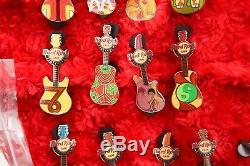 12 Hard Rock Cafe Pins Stockholm HOROSCOPE GUITAR SET LE150 zodiac astrology