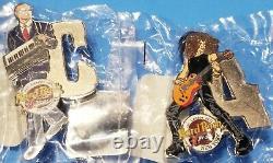 2001hard Rock Cafecompletemusician Series Letter Set12 Total Pinslenrfp