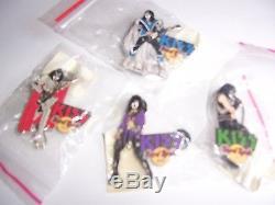 2005 Kiss Stage Series Hard Rock Cafe Pin Set L. E. 200 Rare stick pick