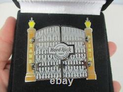 2008 VIP GRAND OPENING HARD ROCK CAFE MYRTLE BEACH PIN w GUITAR BEHIND DOORS MIB