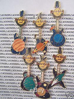 2009 Hard Rock Cafe Philadelphia Solar System (6) Pin Series 7-12
