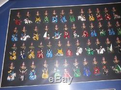 2012 Hard Rock Cafe Girls Of The Games Framed 68 Pin Set