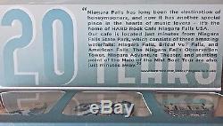 2016 Hard Rock Cafe Niagara Falls, USA 20th Anniversary (3) Pin Box Set