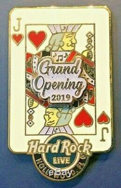 2019 Hard Rock Hotel & Casino Hollywood, Fl 3d Grand Opening 4-pin Le Box Set