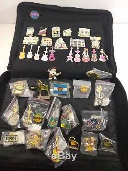 400 HARD ROCK CAFE PIN LOT COLLECTION Some Rares/Set pins
