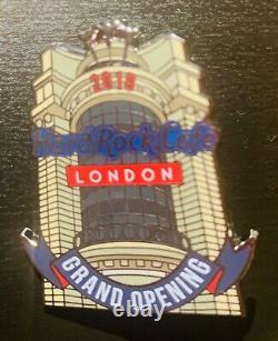 5 Hard Rock Cafe pins LONDON Piccadilly Grand Opening Collection Limited Edition