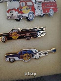 ALL Automotive / Cars Hard Rock Cafe 19 Pin Set Very Hars to find pins