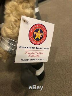 ATHENS, Hard Rock, Teddy Bear, Spartan Greek HARD TO FIND, New with Tag