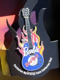 Barbie HARD ROCK CAFE 2005 Mattel J0963 Blue jean's tatouée flamme pin's guitare