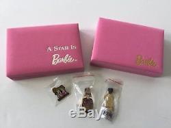 Barbie Hard Rock Cafe Pin Sets 2015 Star & 2013 NOLA