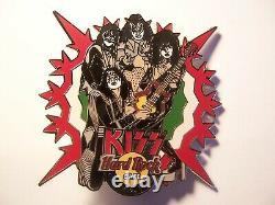 Catania Italy KISS Europe Series 2005 Hard Rock Cafe Group Pin Ltd 150 RARE