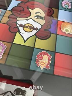 Emilio Ramos Hard Rock Street Artist Mystery Series 2016. 10 Hard Rock Pins