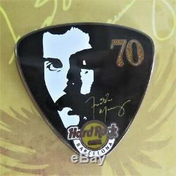Freddie Mercury 70th Birthday 2016 Pin Badge Hard Rock Cafe Barcelona (Queen)