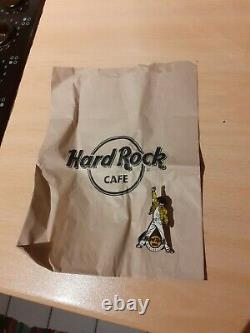 Freddie Mercury Hard Rock Cafe 2015 Limited Edition Pin Badge Manchester Engand