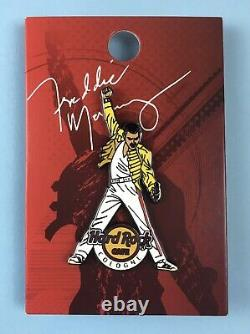 Freddie Mercury (Queen) Hard Rock Cafe 2015 Limited Edition Pin Badge Cologne