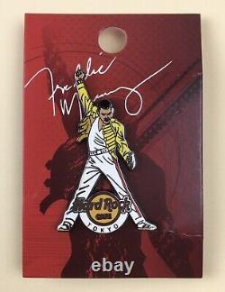 Freddie Mercury (Queen) Hard Rock Cafe 2015 Limited Edition Pin Badge Tokyo
