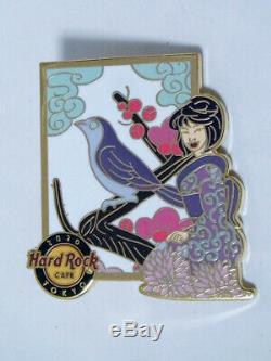 HARD ROCK CAFE 2020 Kimono Girl Pins Set of 4 (Limited 200 ea)