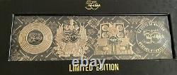 HARD ROCK CAFE 2021 50th ANNIVERSARY PROTOTYPE PIN SET! AWESOME SET