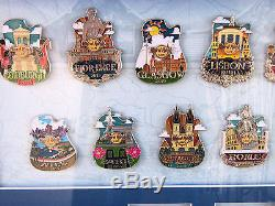 HARD ROCK CAFE EUROPE ICON CITY SERIES FRAME PIN SET 25 PINS With3 PROTOTYPE LE 10