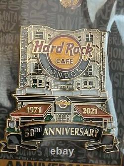HARD ROCK CAFE LONDON 2021 50 YEARS FACADE PIN 50th ANNIVERSARY PIN! LE 300