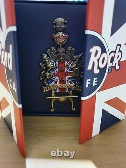 HARD ROCK CAFE LONDON PICCADILLY CIRCUS GRAND OPENING Jumbo PIN perfect gift box