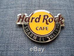 HARD ROCK CAFE SHARM EL SHEIKH ROUND CITY LOGO HRC MAGNET (no bottle opener)
