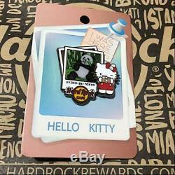 HELLO KITTY Hard Rock Cafe Pin Badge Panda