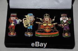 HRC Hard Rock Cafe Cologne Pin Grand Opening Box Set Band 2002 Very RAR NEW