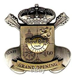 HRC Hard Rock Cafe Seville Grand Opening STAFF Pin