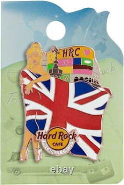 Hard Rock Amsterdam Hollywood Checkpoint Piccadilly'21 Landmark Flag GIRL 4 PIN