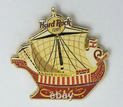 Hard Rock Cafe 1996 Rare Beirut Opening Staff Pin Awesome