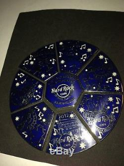 Hard Rock Cafe 2012 Northeast Collector Event Complete 8 Piece Puzzle Pins