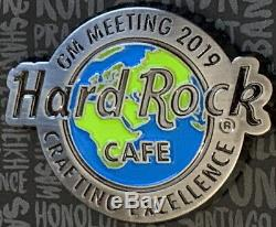 Hard Rock Cafe 2019 GM STAFF Meeting PIN Crafting Excellence LE220 HRC #532927