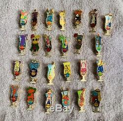 Hard Rock Cafe 25 Hurricane Glass Pins (25L)