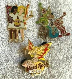 Hard Rock Cafe 27 Assorted Pins (27S)