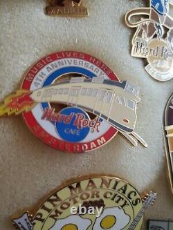 Hard Rock Cafe 27 Pin Random Lot Anniversary, Specialty, Commemoratives ALL NICE