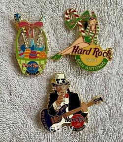 Hard Rock Cafe 29 Assorted Pins (29A)