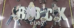 Hard Rock Cafe 30 Years 2001 Musician Series Salt Lake 12 Pin Set/ Wooden Frame