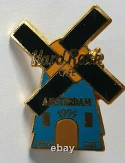 Hard Rock Cafe Amsterdam Grand Opening Staff Pin Le