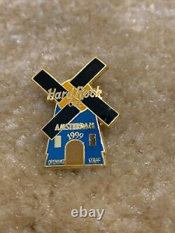Hard Rock Cafe Amsterdam Opening Staff 1999 Windmill FC Parry Limited Edition