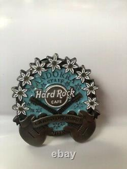 Hard Rock Cafe Andorra GRAND OPENING STAFF 2018 PIN