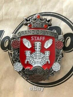 Hard Rock Cafe Antwerp Grand Opening STAFF Pin 2016 version