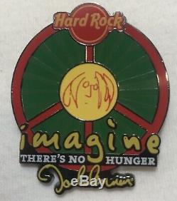 Hard Rock Cafe Assorted 10 Pin Lot John Lennon Toronto Guitar Limited Editions