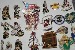 Hard Rock Cafe Assorted Worldwide Pins Lot Collection Guitar Limited edition etc