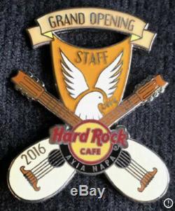 Hard Rock Cafe Ayia Napa Grand Opening Staff Pin