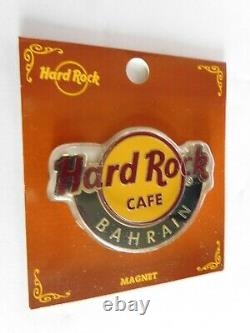 Hard Rock Cafe BAHRAIN Classic City Logo Round Magnet (not bottle opener)