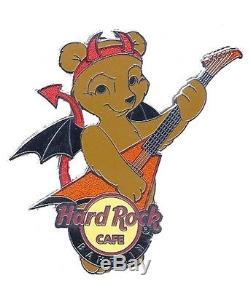 Hard Rock Cafe BAHRAIN Halloween Bear STAFF pin
