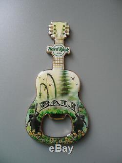 Hard Rock Cafe BALI City Tee Design Guitar & Logo Magnet Bottle Opener