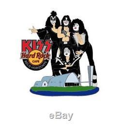 Hard Rock Cafe BELO HORIZONTE KISS PAUL GENE Band Group STAFF pin